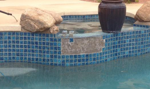 Pool Tile Cleaningl Cleaning Coping Repair
