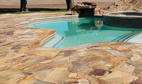 Pool_Flagstone_Decking