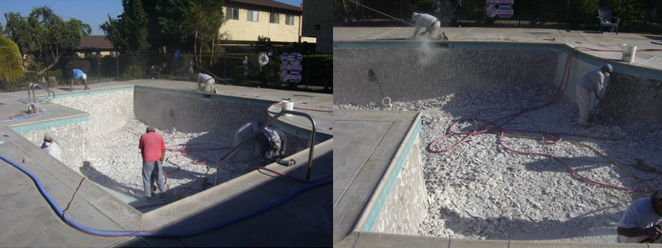 Pool-Replastering